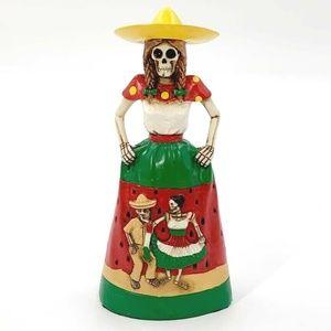 Day of the Dead Skeleton Señorita Halloween Figure